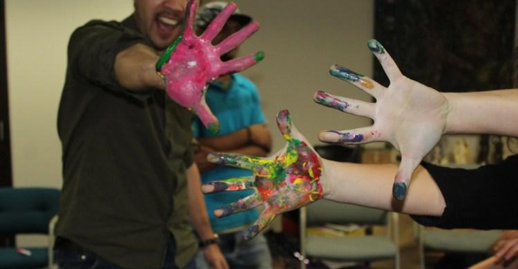 Nicki hands