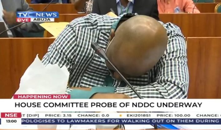 Breaking: NDDC MD, Pondei faints before Reps committee during ...
