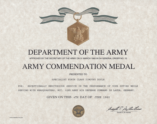Army Award Template. Army Award Form 5 Free Templates In Pdf Word