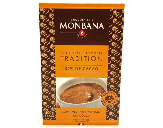 cacao monbana chocolat en poudre 500g