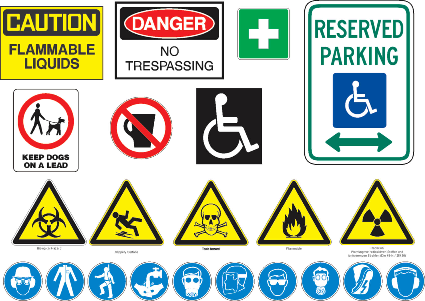 5 Types Of Safety Signage And Why It Is Important