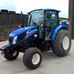 New Holland T4.75 On Grass Tyres