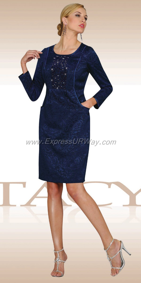 Stacy Adams Ladies Navy Suit