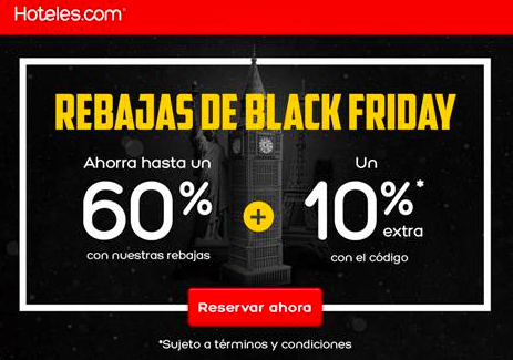 OFERTAS HOTELES BLACK FRIDAY