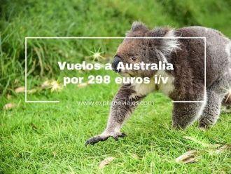 australia tarifa error vuelos 298 euros