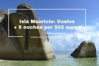 mauricio vuelos 5 noches 502 euros