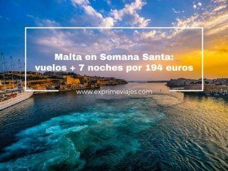 malta semana santa vuelos 7 noches 194 euros