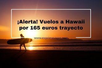 hawaii vuelos 165 euros trayecto