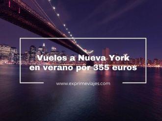 nueva york en verano 355 euros
