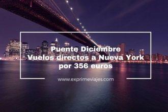 nueva york puente diciembre vuelos directos 356 euros
