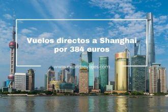 shanghai vuelos directos madrid 384 euros