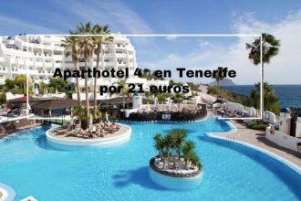 tenerife aparthotel 4* 21 euros