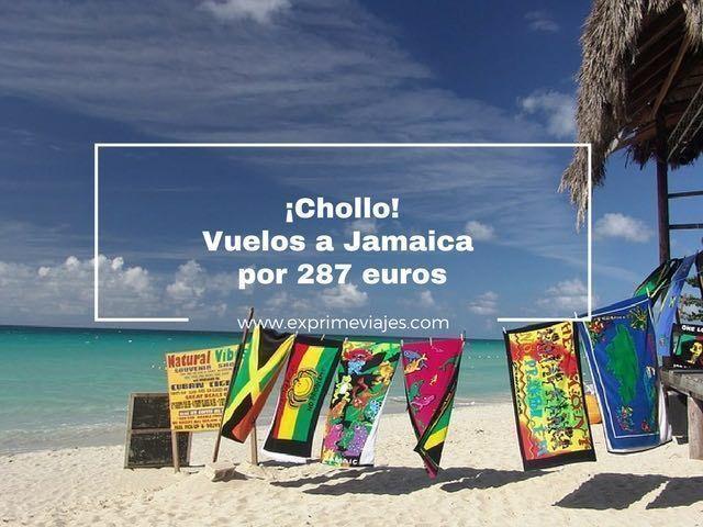 ¡CHOLLO! VUELOS A JAMAICA POR 287EUROS DESDE BRUSELAS