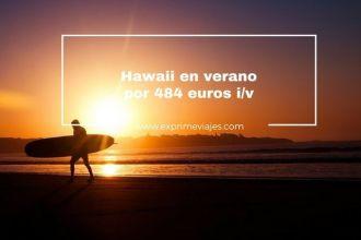 hawaii verano vuelos baratos 484 euros
