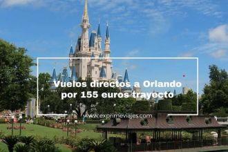 orlando vuelos directos 155 euros trayecto