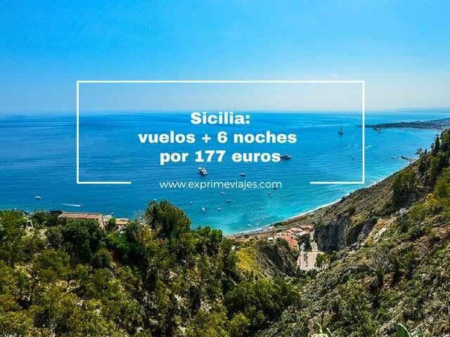 Sicilia vuelos mas 6 noches por 177 euros