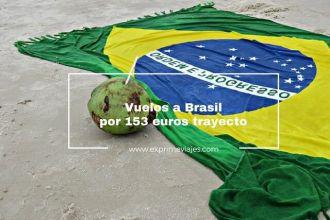 brasil vuelos baratos 153 euros trayecto