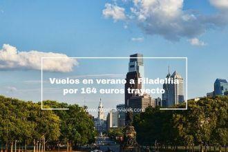 filadelfia vuelos verano 164 euros trayecto