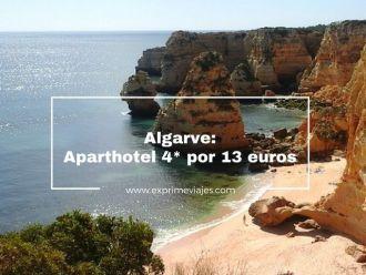 algarve aparthotel 4* por 13 euros