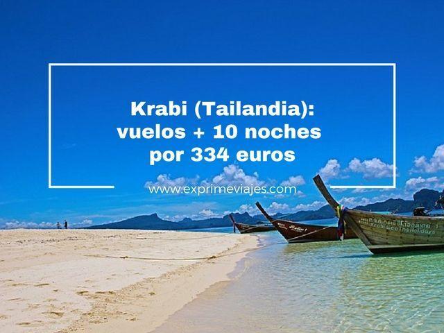krabi tailandia vuelos 10 noches 334 euros