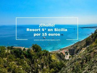 sicilia resort 4 estrellas 15 euros