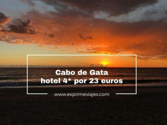 cabo de gata hotel 4* 23 euros