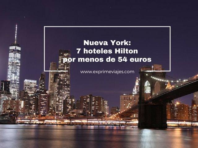 nueva york 7 hoteles hilton menos 54 euros