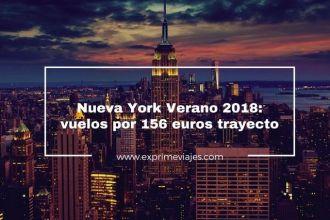 nueva york verano 2018 vuelos 156 euros trayecto