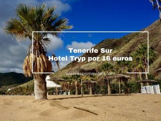 tenerife sur hotel tryp 16 euros