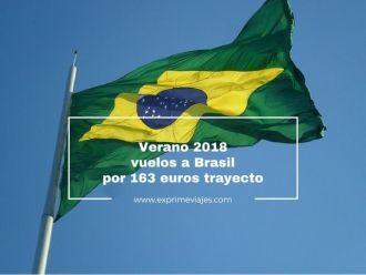 verano 2018 vuelos a brasil por 163 euros trayecto
