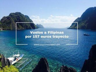 vuelos a filipinas por 157 euros trayecto