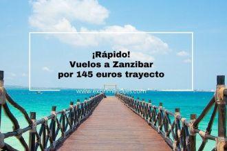 zanzibar tarifa error vuelos 145 euros trayecto