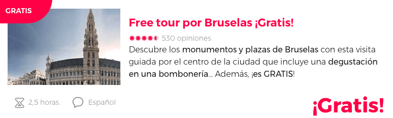 TOUR GRATIS BRUSELAS