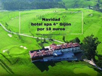 navidad hotel spa 4* gijón por 18 euros