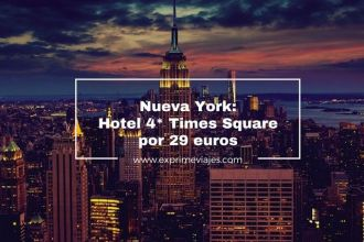 nueva york hotel 4* times square 29 euros