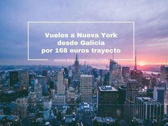 nueva york vuelos desde galicia 168 euros