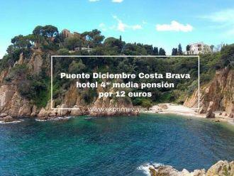 puente diciembre hotel 4* media pensión por 12 euros