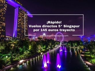 singapur tarifa error vuelos directos 145 euros