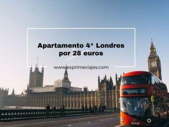 londres apartamento 4* 28 euros
