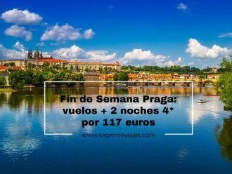 praga fin de semana vuelos 2 noches 4* 117 euros
