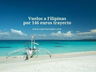 Vuelos a Filipinas por 146 euros trayecto