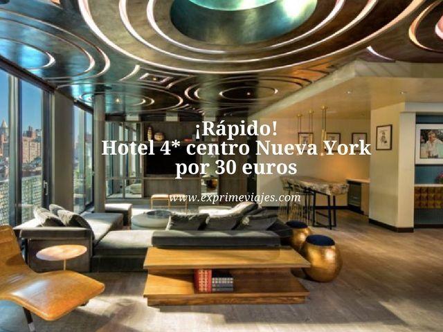 nueva york hotel 4 estrellas 30 euros