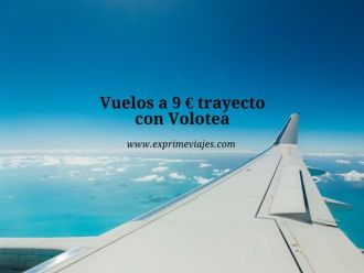 volotea vuelos 9 euros trayecto