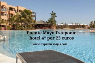 Puente Mayo Estepona hotel 4* por 23 euros