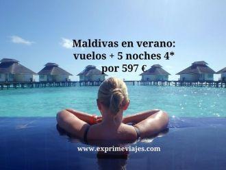 maldivas verano vueos 5 noches 597 euros
