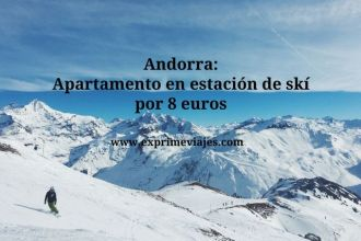 andorra estación ski 8 euros