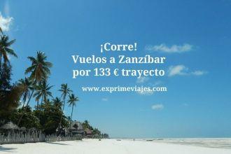 zanzibar tarifa error vuelos 133 euros trayecto