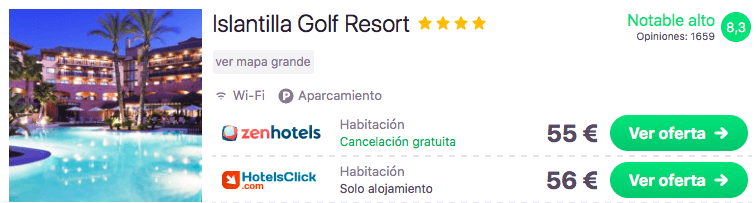 COSTA DE LA LUZ: RESORT 4* POR 27 EUROS