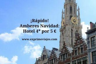 amberes tarifa error hotel 4* 5 euros