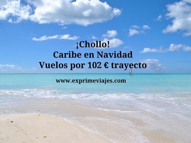 caribe en navidad vuelos 102 euros trayecto